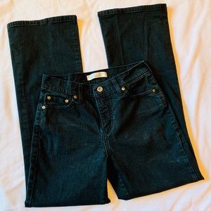 Levi's Perfectly Slimming Bootcut Black Jeans